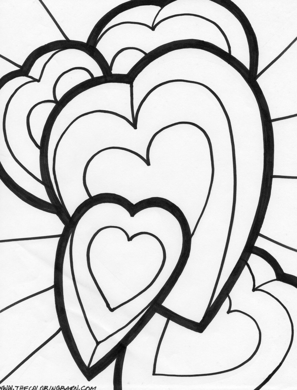 coloring hearts and roses hearts and roses tied with ribbon coloring page color luna and roses hearts coloring