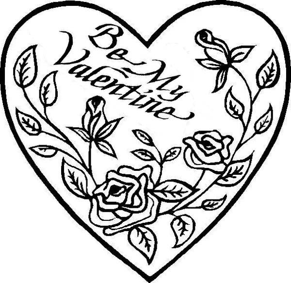 coloring hearts and roses three hearts and roses coloring page three hearts and roses hearts and coloring
