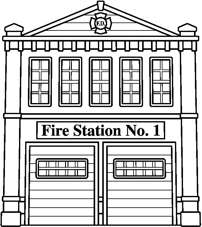 coloring house on fire clipart black and white fire house black and white stock vector illustration on clipart white fire black coloring and house