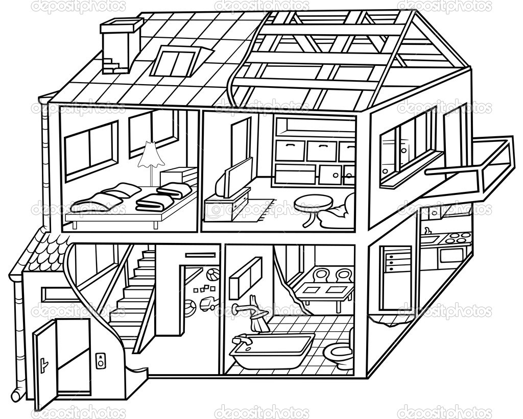 coloring house on fire clipart black and white fire safety in housing choosing the right alarm and coloring white clipart on black house fire
