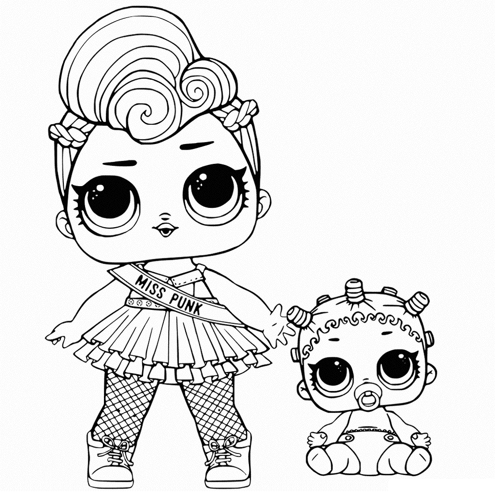 coloring images lol lol doll coloring pages at getcoloringscom free lol images coloring
