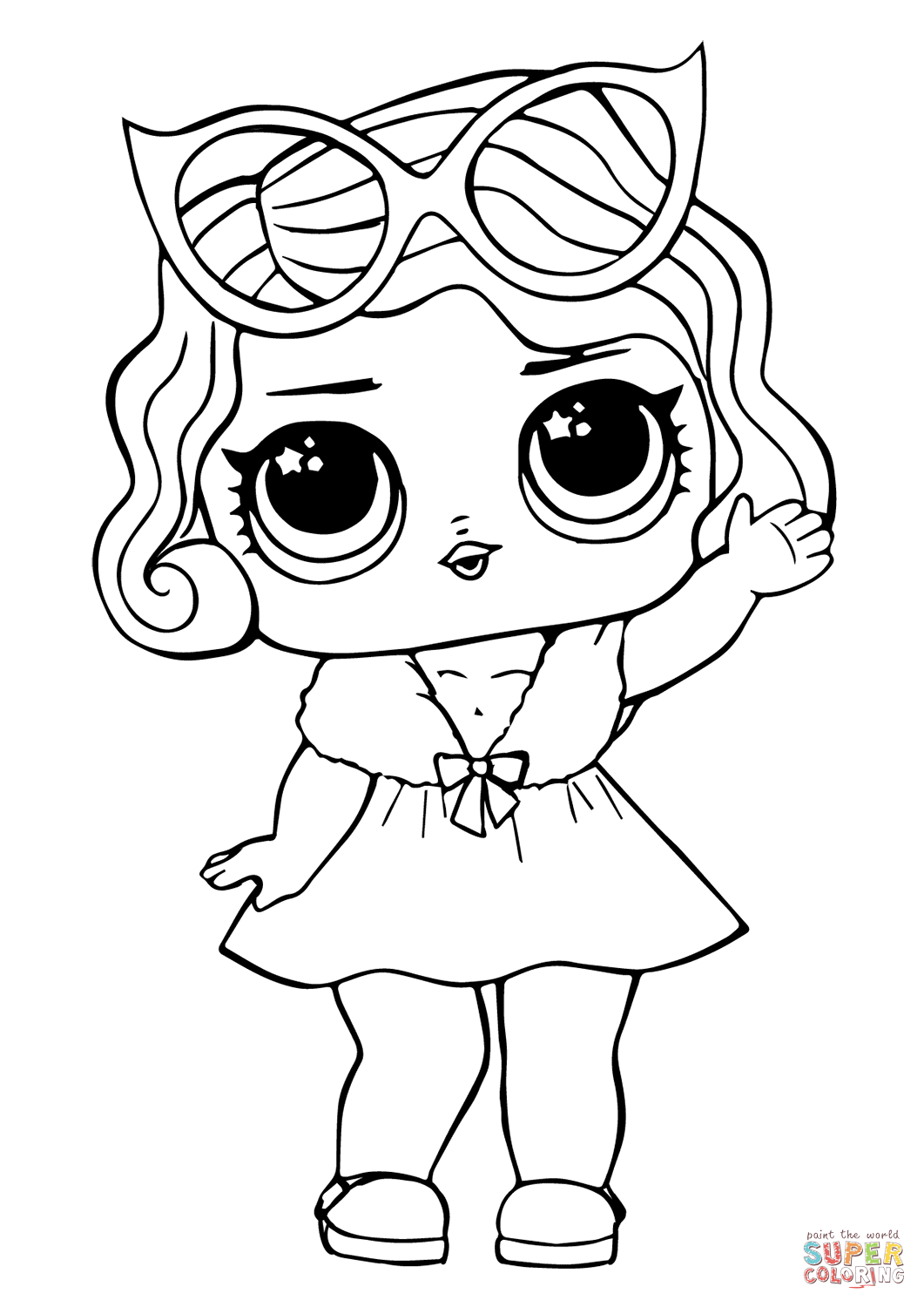 coloring images lol lol surprise dolls coloring pages print them for free images coloring lol