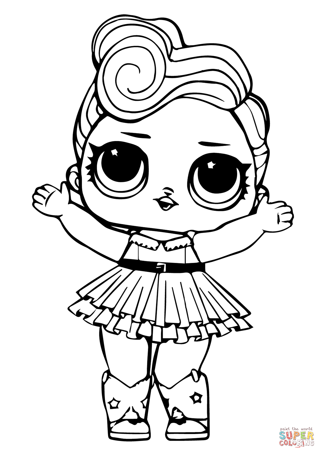 coloring images lol lol surprise free coloring image pages for kids lol coloring images