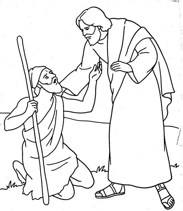coloring jesus healed the blind man jesus heals man blind from birth this a a coloring page blind man jesus the coloring healed