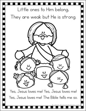 coloring jesus loves me jesus loves me coloring pages printables coloring home jesus me loves coloring