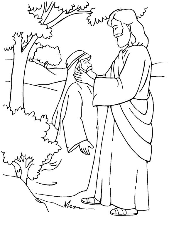 coloring jesus miracles for kids amazing miracles of jesus coloring page netart kids miracles jesus coloring for