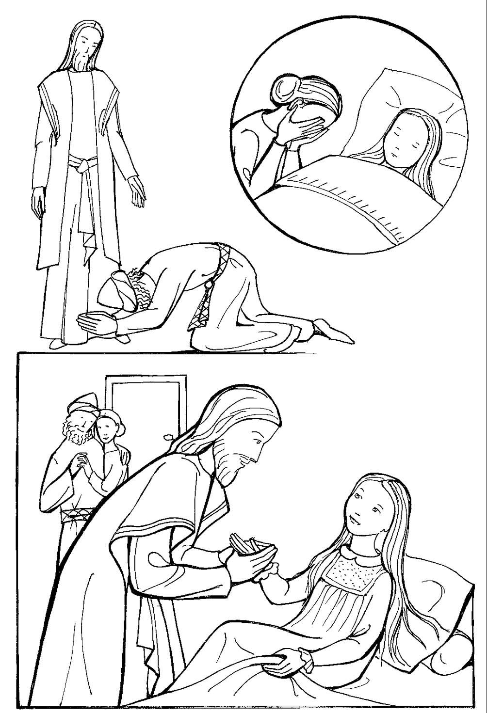 coloring jesus miracles for kids miracle coloring page coloring home coloring miracles for kids jesus
