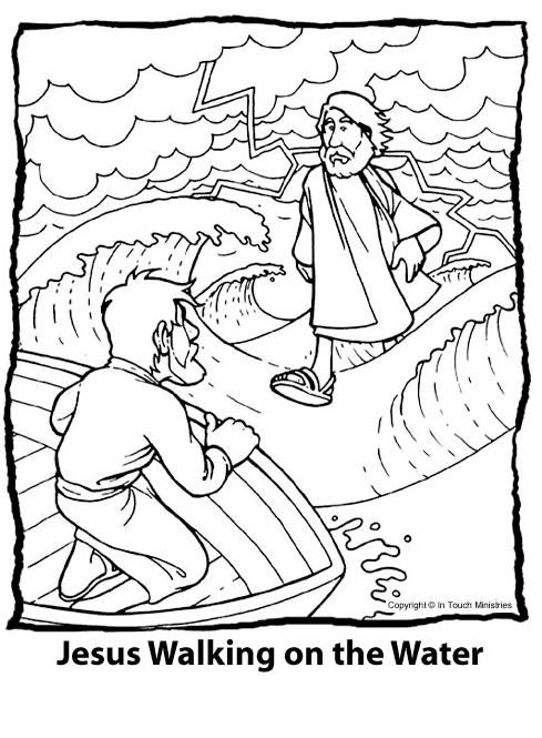 coloring jesus miracles for kids miracle coloring page coloring home miracles kids for coloring jesus