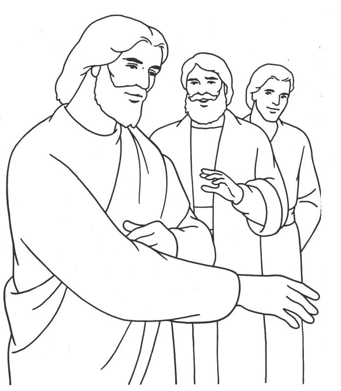 coloring jesus miracles for kids miracles of jesus heals sick person coloring page netart for kids jesus miracles coloring