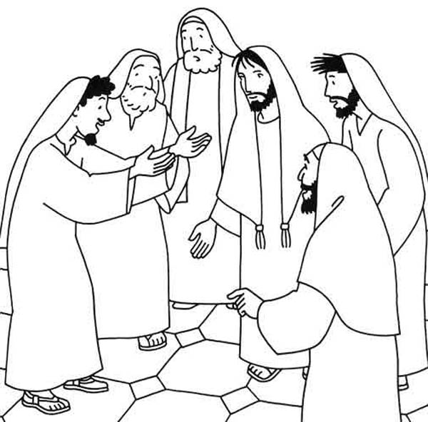 coloring jesus miracles for kids the miracle of cleansing ten lepers coloring pages 1 jesus kids coloring miracles for