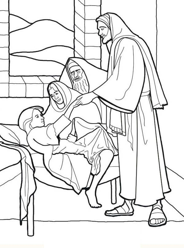 coloring jesus miracles for kids the miracle of the catch of fish coloring pages 1 kids miracles jesus coloring for