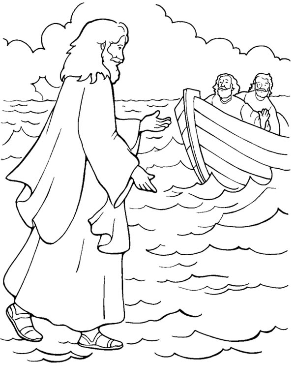 coloring jesus miracles for kids the miracles of jesus clipart 20 free cliparts download kids jesus coloring for miracles