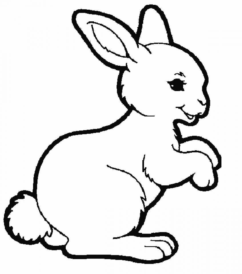 coloring kids rabbit free easy to print bunny coloring pages tulamama rabbit kids coloring