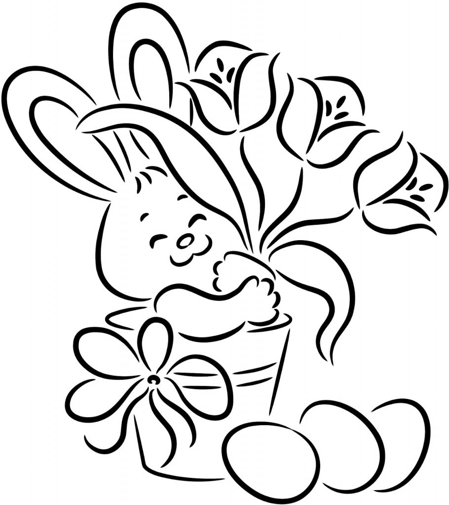 coloring kids rabbit free printable rabbit coloring pages for kids rabbit kids coloring