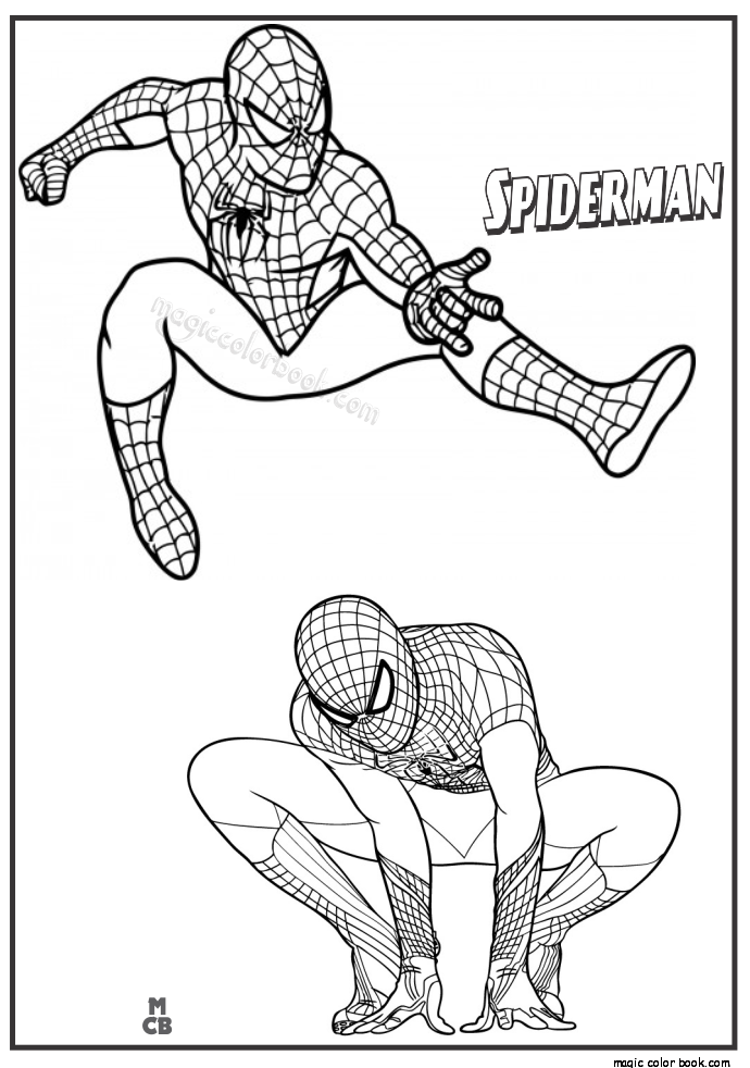 coloring kids spider man far from home coloring pages pin by magic color book on spiderman coloring pages free from man coloring kids far home pages coloring spider