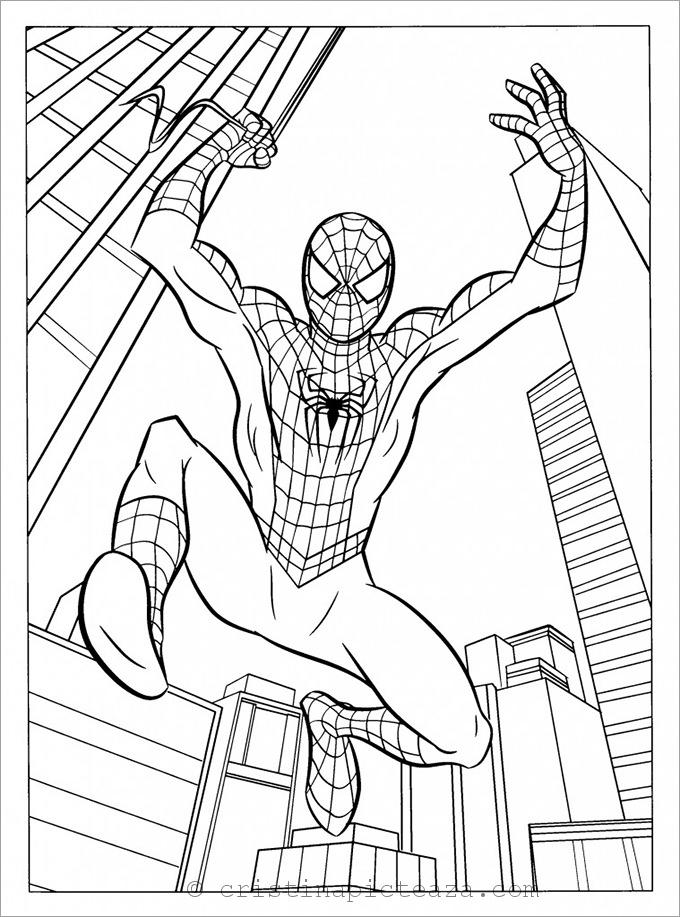 coloring kids spider man far from home coloring pages spider man far from home printable coloring pages di 2020 kids coloring from man home far coloring spider pages