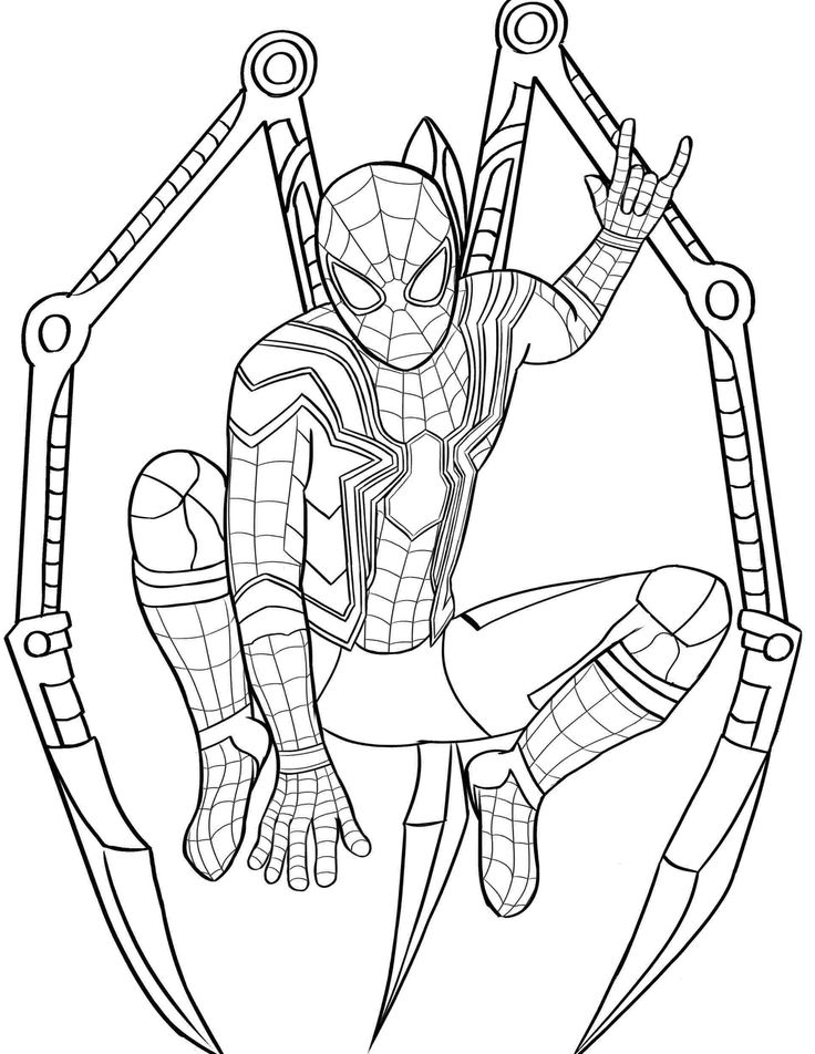 coloring kids spider man far from home coloring pages spiderman coloring pages far from home coloring sheets coloring home spider kids coloring from far pages man