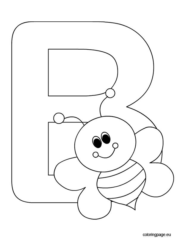 coloring letter b pictures letter b coloring pages getcoloringpagescom pictures coloring b letter