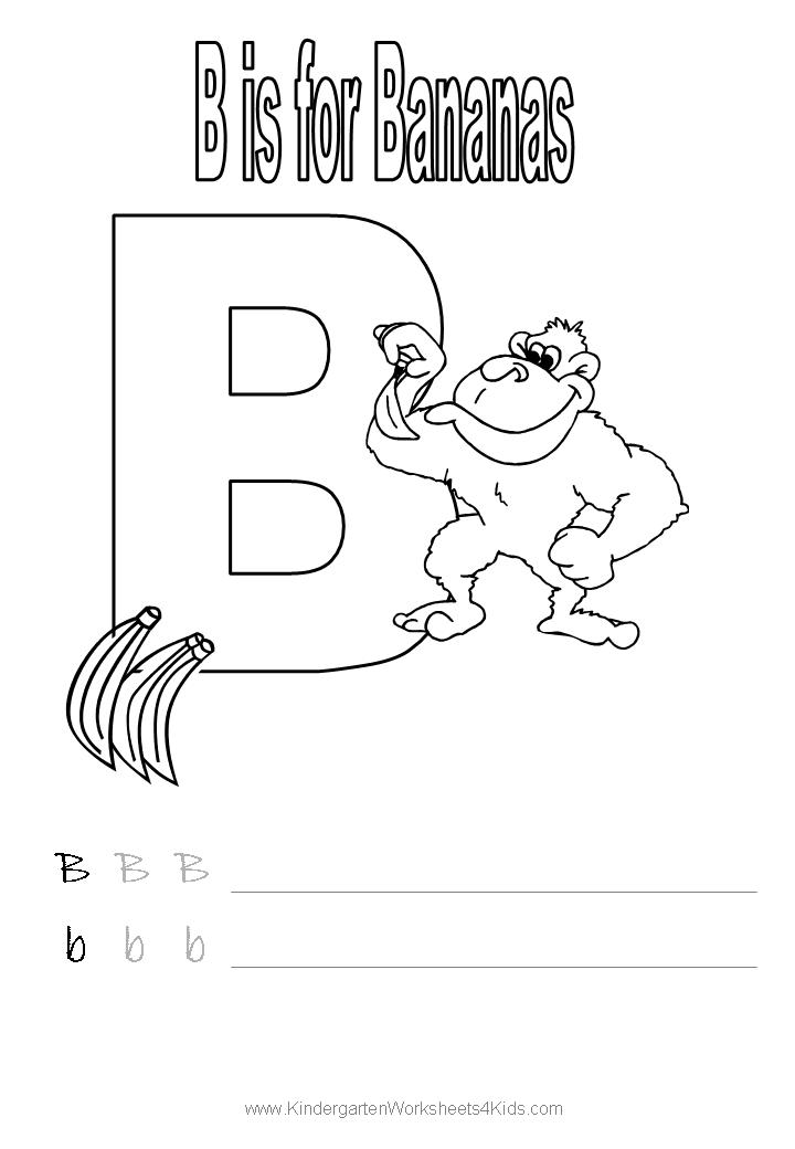 coloring letter b pictures letter b coloring pages getcoloringpagescom pictures letter b coloring