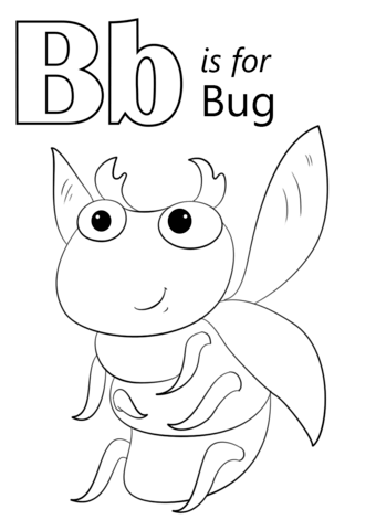 coloring letter b pictures letter b coloring pages to download and print for free pictures coloring b letter
