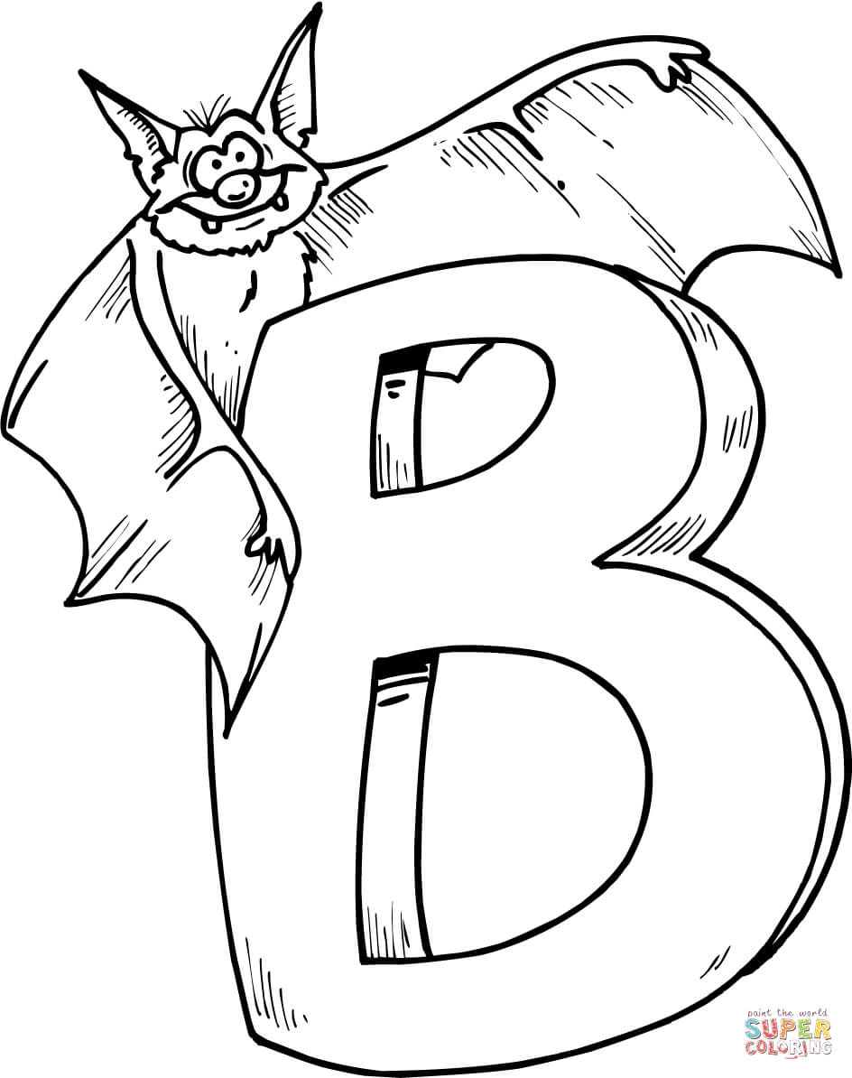 coloring letter b pictures letter b is for beaver coloring page free printable letter b coloring pictures
