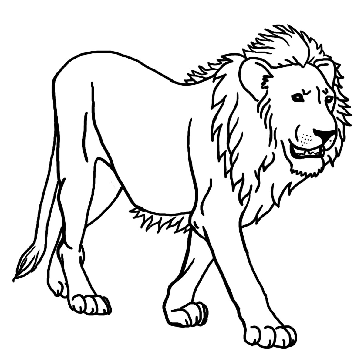 coloring lion color fantasy lion printable adult coloring page from favoreads coloring color lion