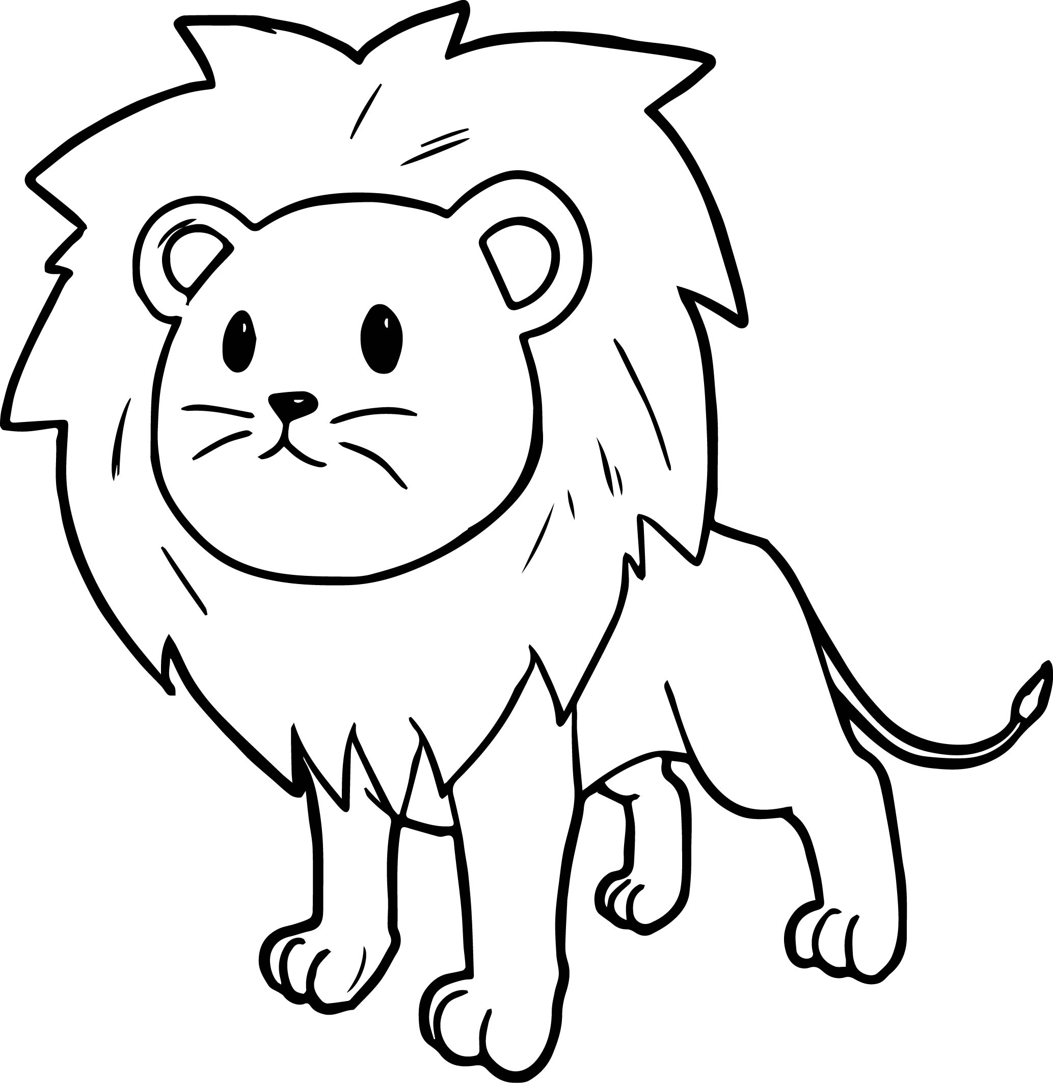coloring lion color lion coloring pages clipart and other free printable color coloring lion