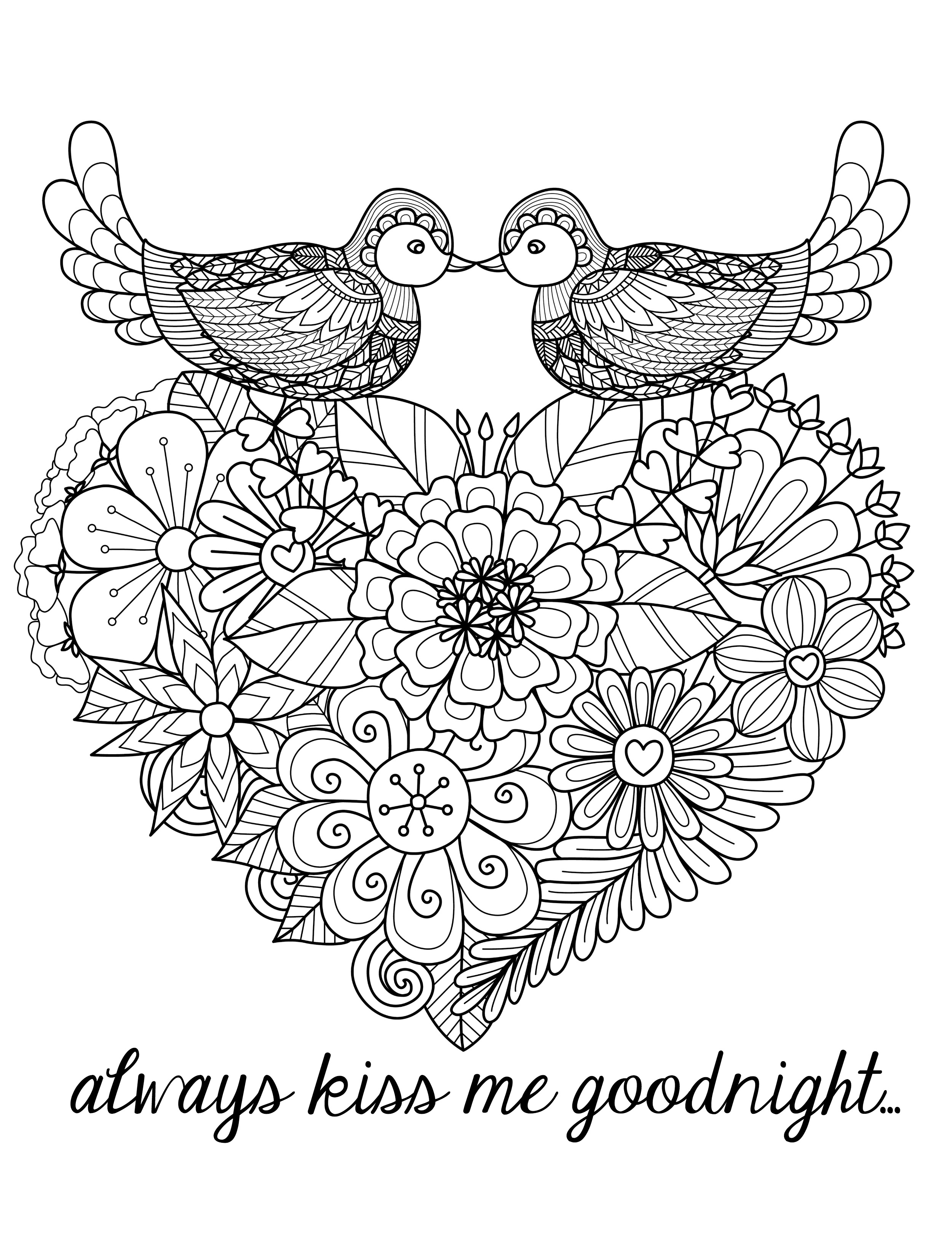 coloring love i love you vector coloring page for adult rounder frame love coloring