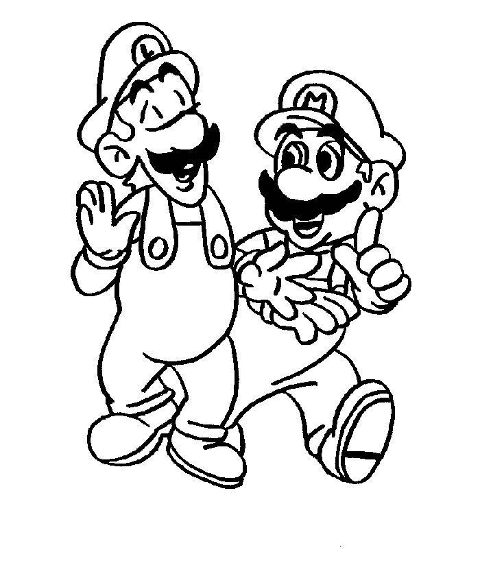 coloring mario mario bros coloring pages to download and print for free coloring mario