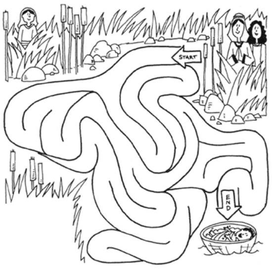 coloring moses in a basket baby moses in basket coloring coloring pages moses basket coloring a in