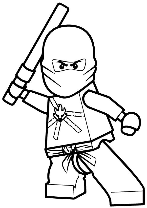 coloring ninjago kai kai ninjago drawing at getdrawings free download ninjago coloring kai