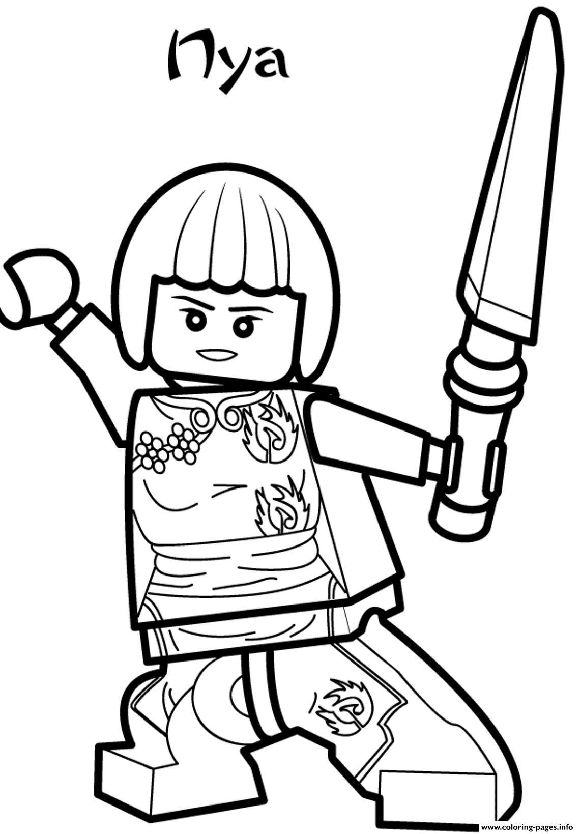 coloring ninjago kai lego ninjago kai coloring pages coloring pages coloring ninjago kai