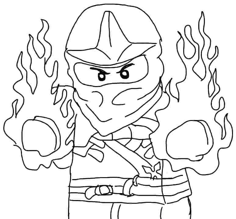 coloring ninjago kai ninjago kai coloring pages at getdrawings free download kai coloring ninjago