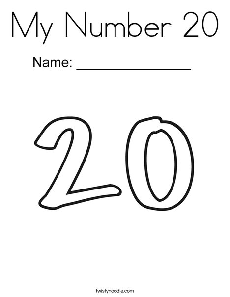 Coloring number 20
