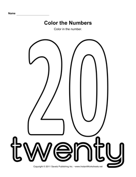 coloring number 20 number 20 coloring page twisty noodle coloring number 20