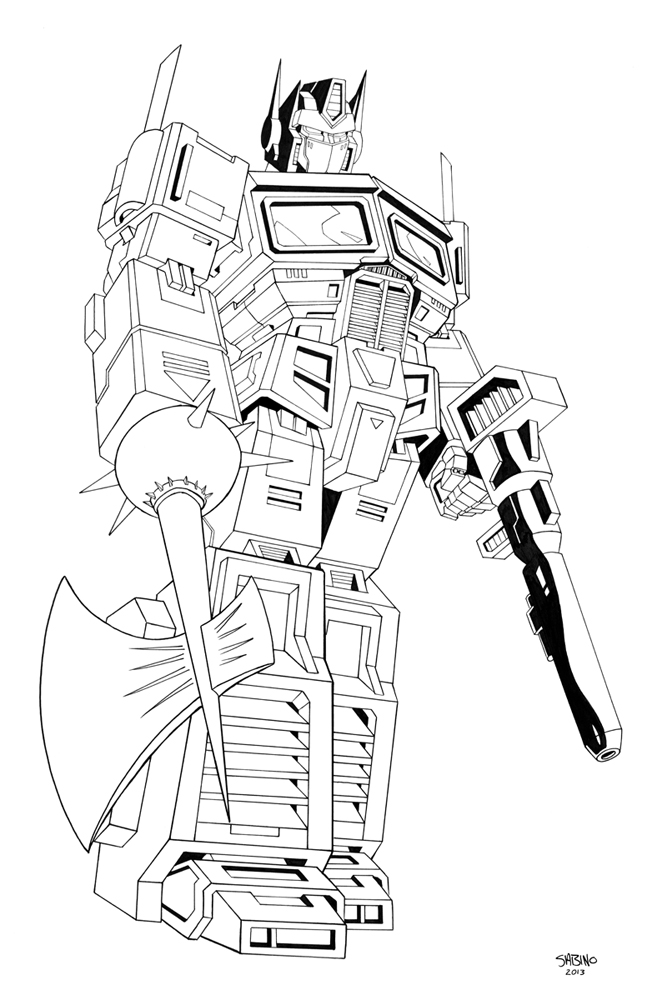 coloring optimus prime transformer amazing optimus prime in transformers coloring page coloring transformer prime optimus