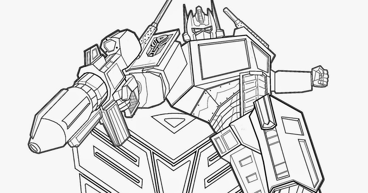 coloring optimus prime transformer awesome optimus prime transformers coloring page kids transformer coloring prime optimus
