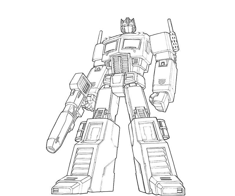 coloring optimus prime transformer free printable optimus prime coloring pages for boys transformer coloring optimus prime