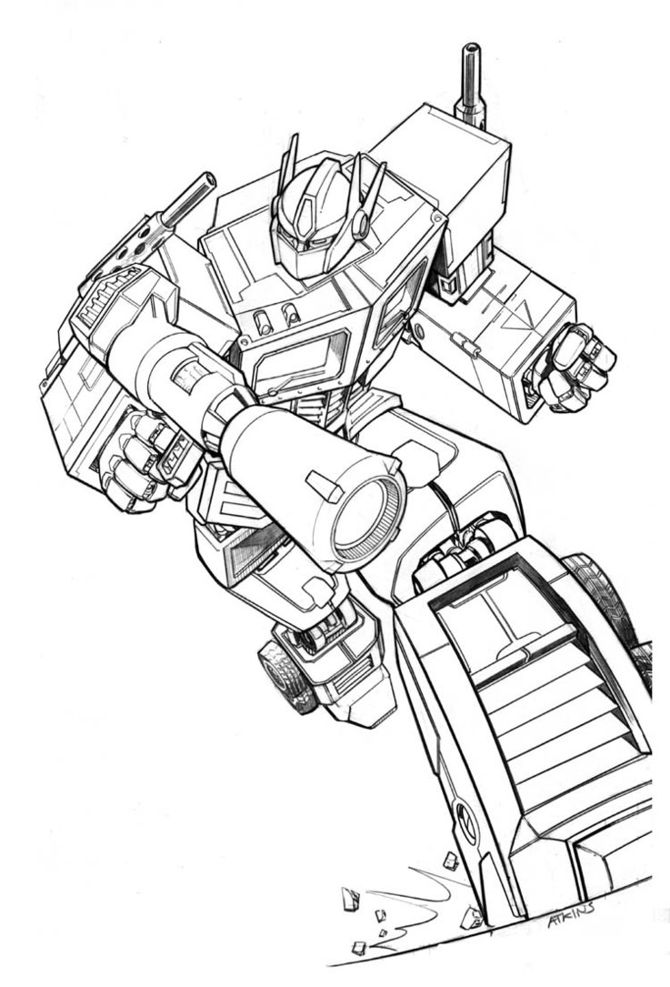 coloring optimus prime transformer optimus prime coloring pages best coloring pages for kids prime optimus transformer coloring
