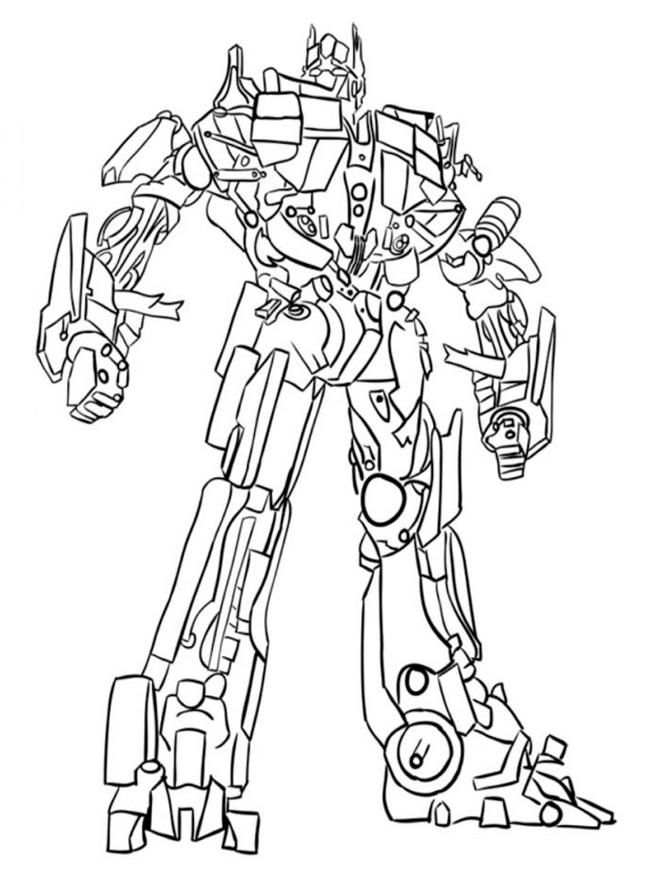 coloring optimus prime transformer optimus prime coloring pages free printable optimus prime transformer coloring optimus prime