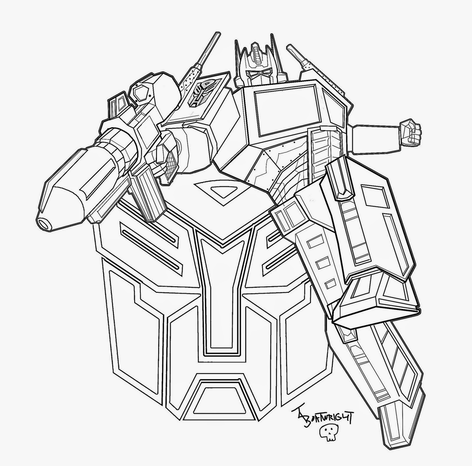 coloring optimus prime transformer optimus prime coloring pages free printable optimus prime transformer prime optimus coloring