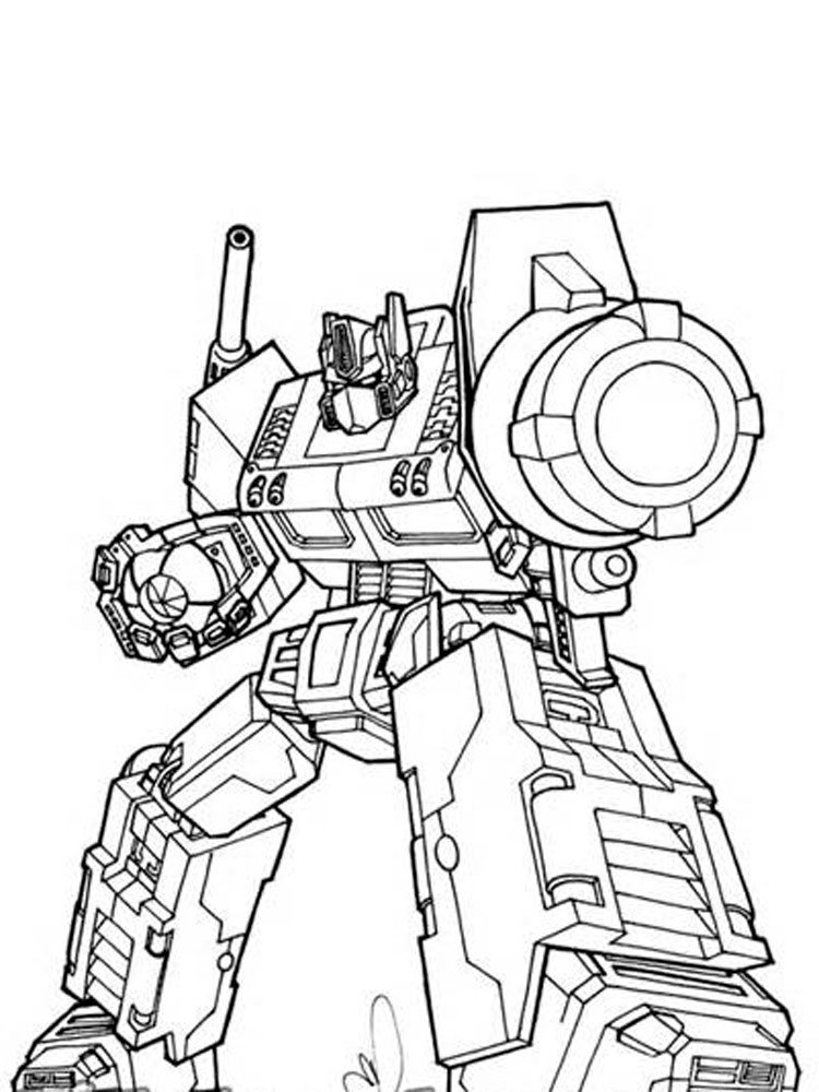 coloring optimus prime transformer optimus prime from transformers coloring page download coloring optimus prime transformer