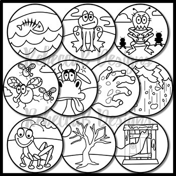 coloring page 10 plagues the picture of 10 plagues of egypt coloring page the page 10 coloring plagues
