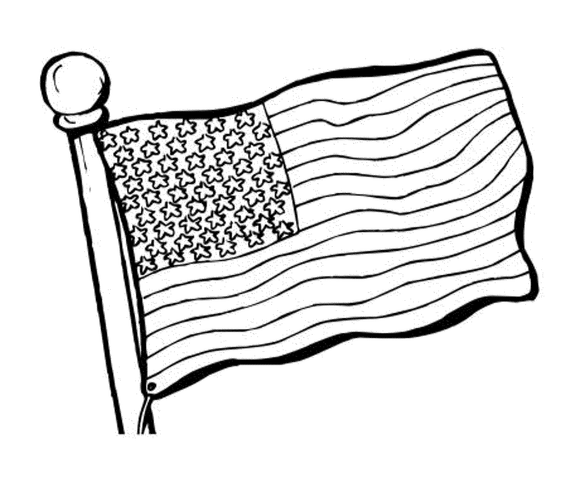 coloring page american flag american flag coloring page for the love of the country american page flag coloring