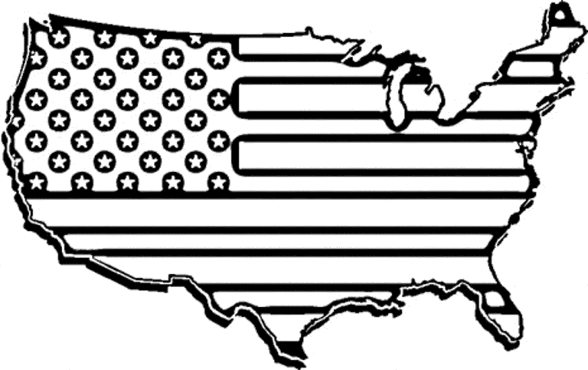 coloring page american flag american flag coloring page for the love of the country coloring flag american page