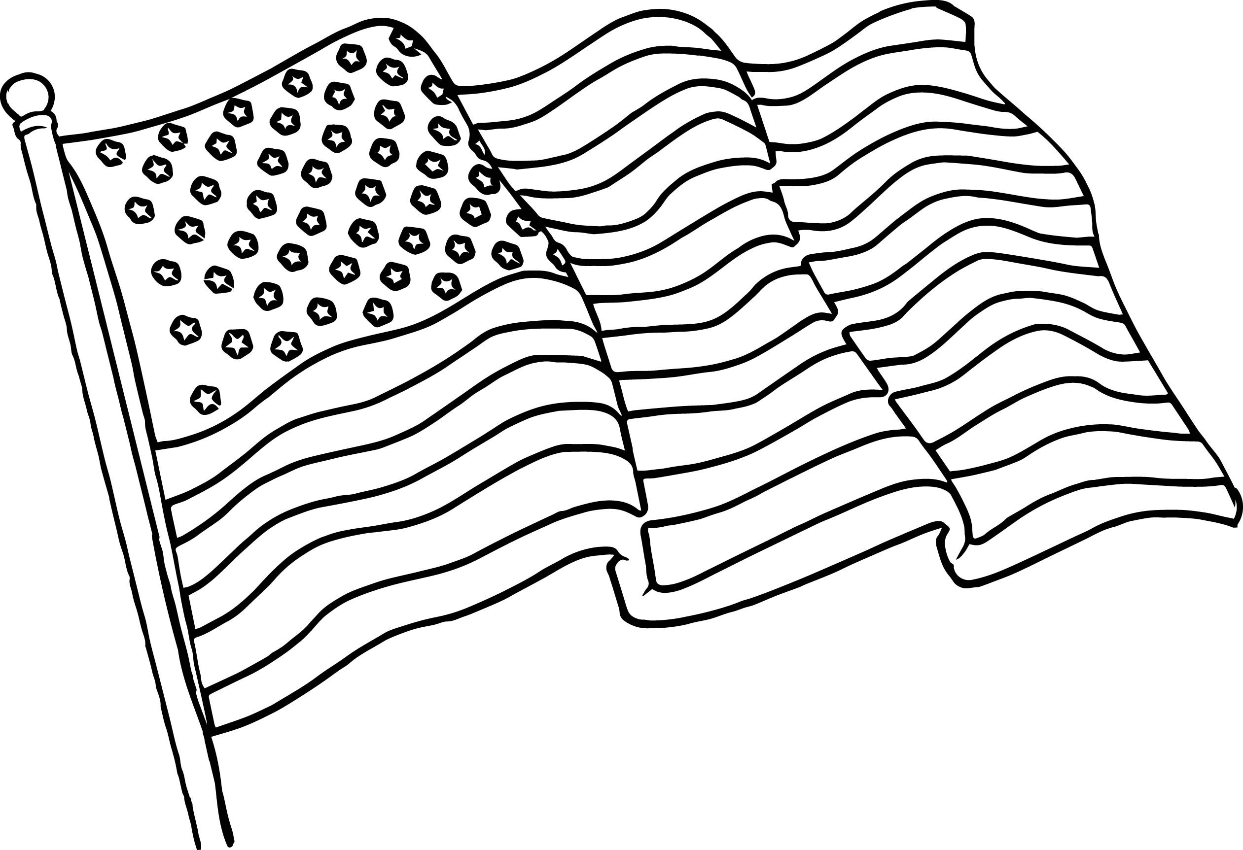 coloring page american flag american flag coloring page for the love of the country page flag american coloring