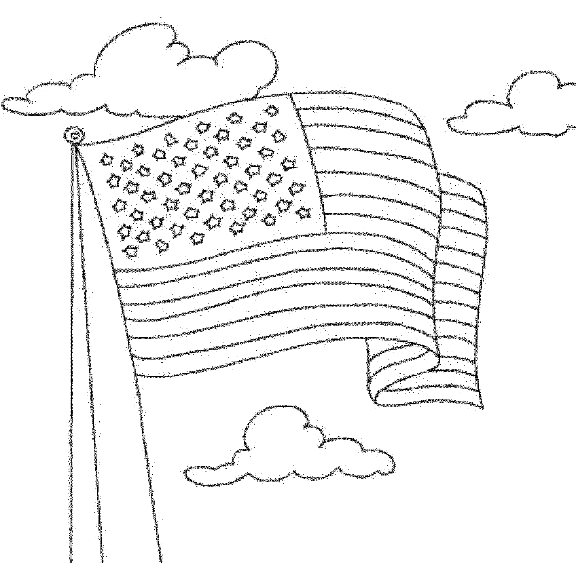 coloring page american flag american flag coloring pages best coloring pages for kids coloring flag page american