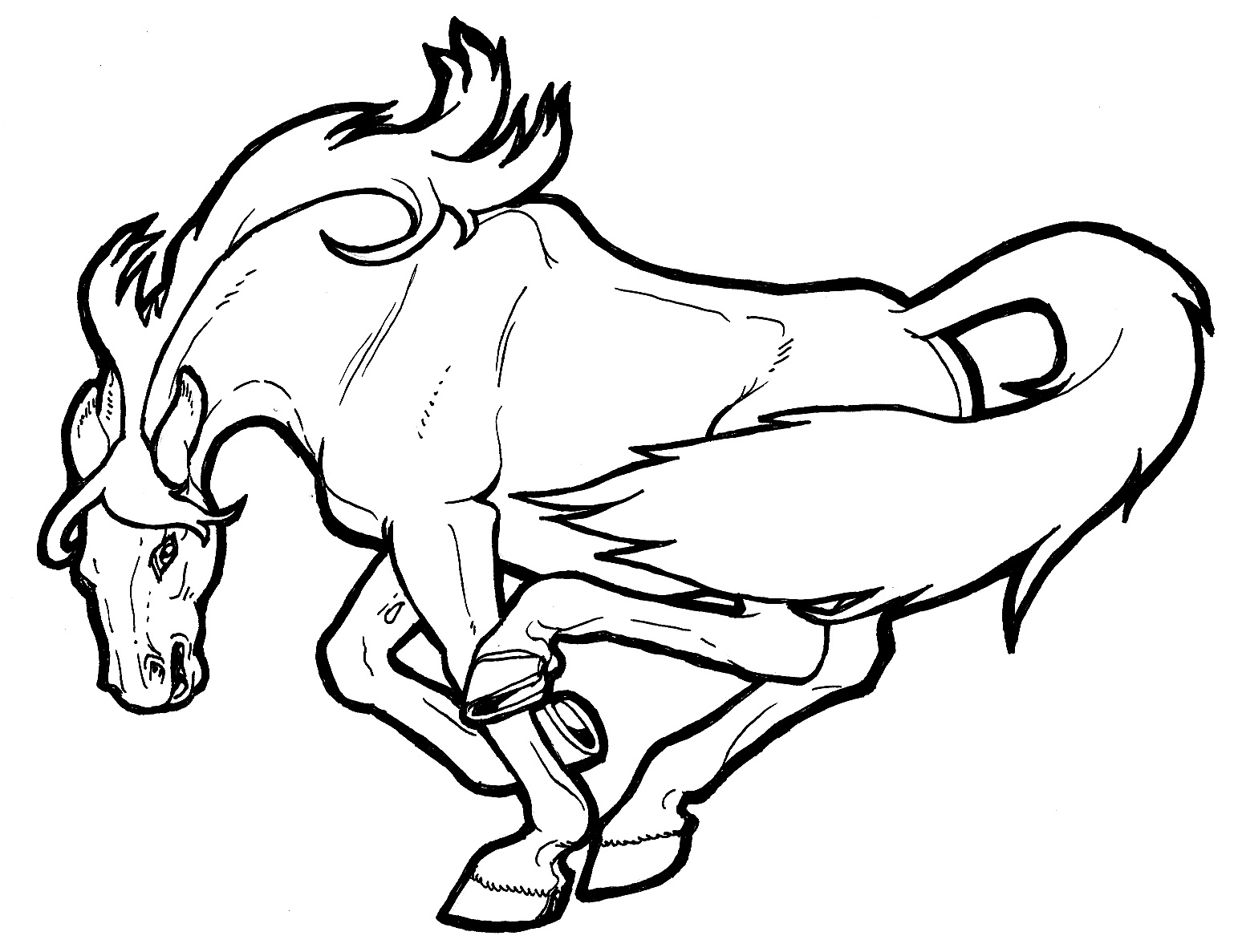 coloring page horse horse coloring pages hard coloring home coloring page horse