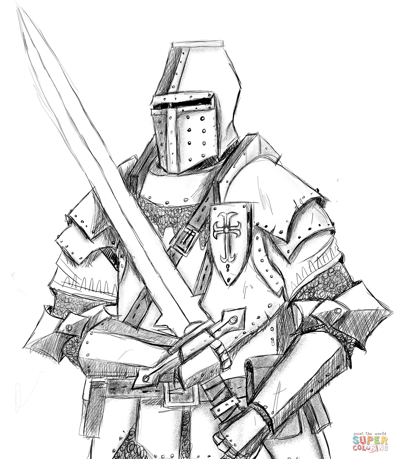 coloring page knight knights coloring pages coloringpages1001com coloring knight page