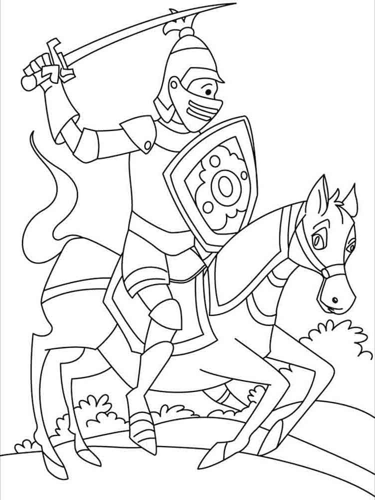 coloring page knight knights coloring pages download and print knights coloring knight page